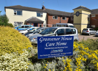 Grosvenor House Care Home | Sign