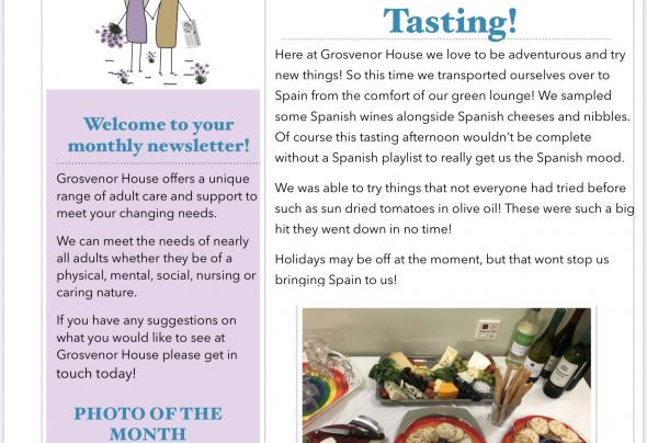 October Newsletter | Grosvenor Care