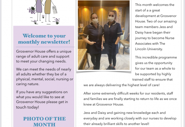 Care Home Gainsborough | Grosvenor Care